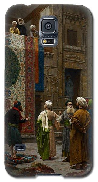 The Carpet Merchant Galaxy S5 Case by Jean Leon Gerome