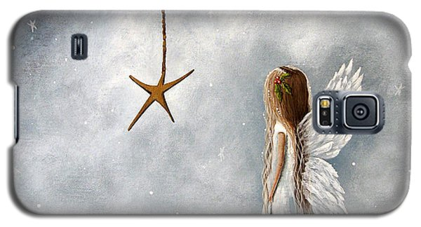 The Christmas Star Original Artwork Galaxy S5 Case by Shawna Erback