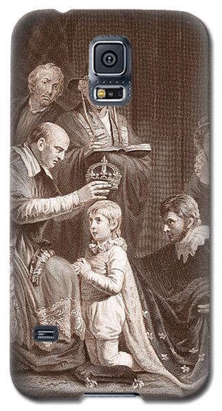 The Coronation Of Henry Vi, Engraved Galaxy S5 Case by John Opie