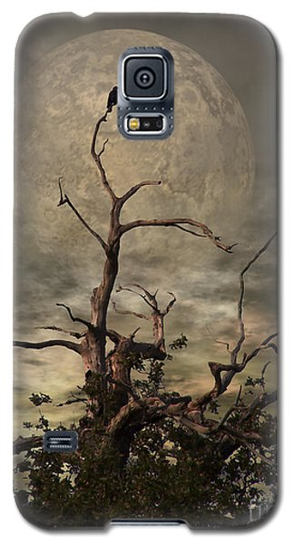 Blue Galaxy S5 Cases - The Crow Tree Galaxy S5 Case by Isabella Abbie Shores