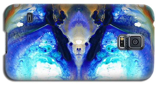 Science Fiction Galaxy S5 Cases - The Dragon - Visionary Art By Sharon Cummings Galaxy S5 Case by Sharon Cummings