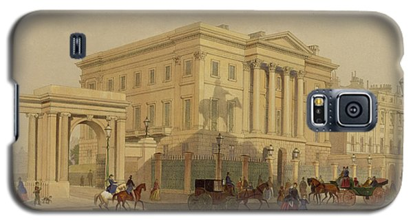 The Exterior Of Apsley House, 1853 Galaxy S5 Case by English School