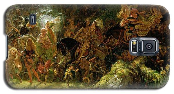 The Fairy Raid Galaxy S5 Case by Sir Joseph Noel Paton