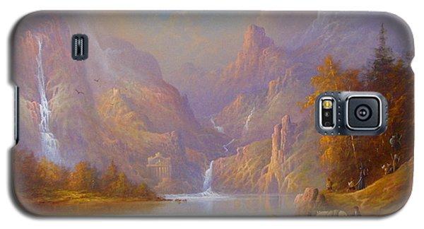The Fellowship Doors Of Durin Moria.  Galaxy S5 Case by Joe  Gilronan