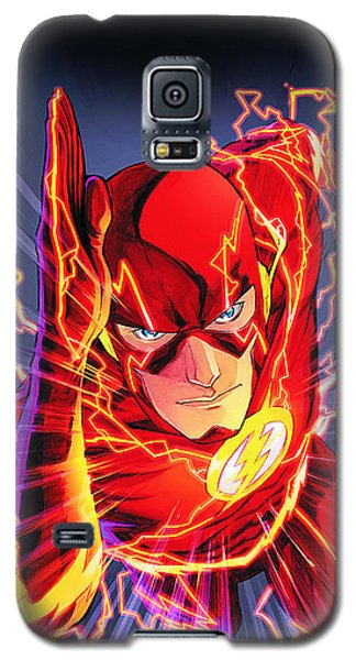 The Flash Galaxy S5 Case by FHT Designs