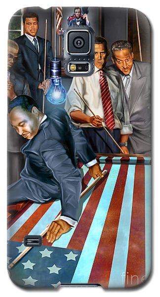 The Game Changers And Table Runners Galaxy S5 Case by Reggie Duffie