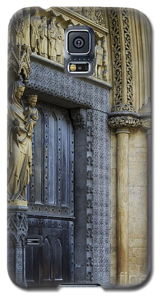 The Great Door Westminster Abbey London Galaxy S5 Case by Tim Gainey