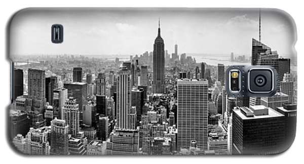 Skylines Galaxy S5 Cases - The Heart Of New York Galaxy S5 Case by Az Jackson