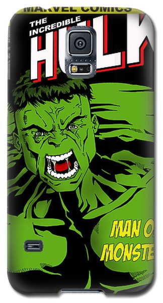 The Incredible Hulk Galaxy S5 Case by Mark Rogan