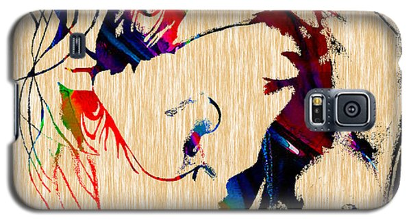 The Joker Heath Ledger Collection Galaxy S5 Case by Marvin Blaine
