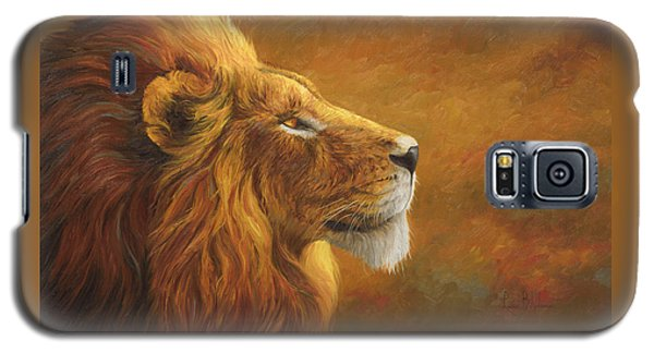 Animals Galaxy S5 Cases - The King Galaxy S5 Case by Lucie Bilodeau