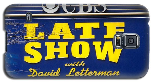 The Late Show With David Letterman Galaxy S5 Case by Kenneth Summers