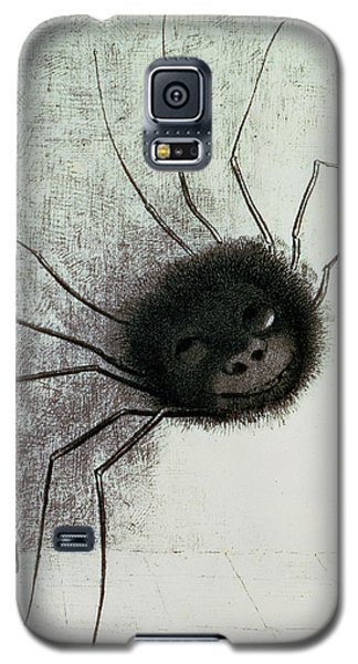 The Laughing Spider Galaxy S5 Case by Odilon Redon