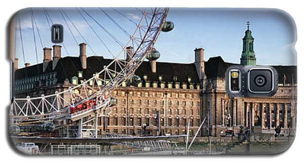 The London Eye And County Hall Galaxy S5 Case by Rod McLean