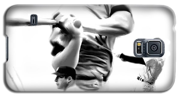 The Mick  Mickey Mantle Galaxy S5 Case by Iconic Images Art Gallery David Pucciarelli