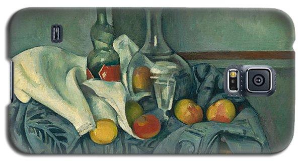 The Peppermint Bottle Galaxy S5 Case by Paul Cezanne