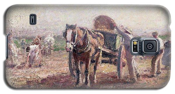 The Potato Pickers Galaxy S5 Case by Harry Fidler