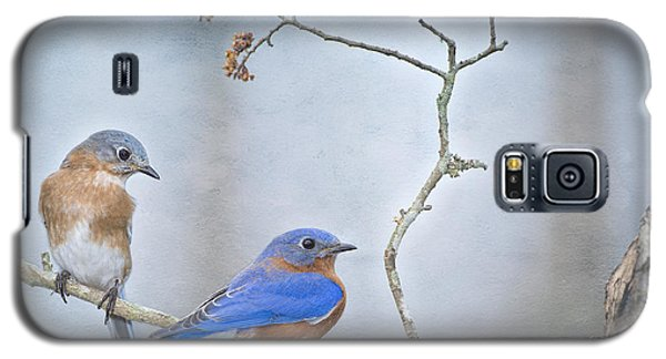 The Presence Of Bluebirds Galaxy S5 Case by Bonnie Barry