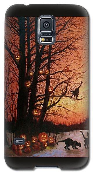 The Pumpkin Tree Galaxy S5 Case by Tom Shropshire