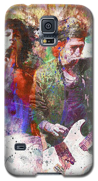 The Rolling Stones Original Painting Print  Galaxy S5 Case by Ryan Rock Artist