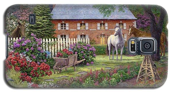 The Sweet Garden Galaxy S5 Case by Chuck Pinson
