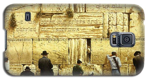 The Western Wall  Jerusalem Galaxy S5 Case by Graham Braddock