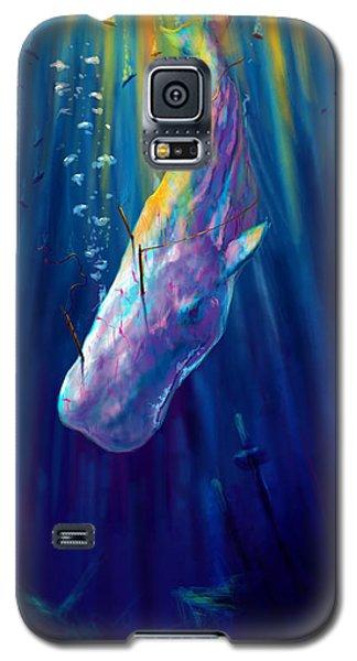 Thew White Whale Galaxy S5 Case by Yusniel Santos