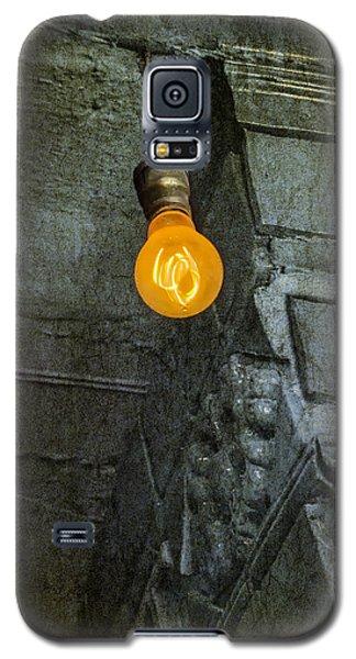 Light Galaxy S5 Cases - Thomas Edison Lightbulb Galaxy S5 Case by Susan Candelario