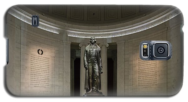 Thomas Jefferson Memorial At Night Galaxy S5 Case by Sebastian Musial