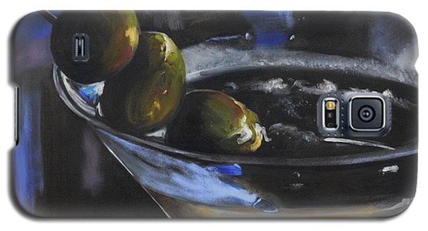 Three Olive Martini Galaxy S5 Case by Donna Tuten