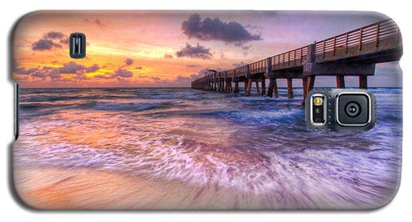 Buy Galaxy S5 Cases - Tidal Lace Galaxy S5 Case by Debra and Dave Vanderlaan