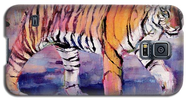Tigress, Khana, India Galaxy S5 Case by Mark Adlington