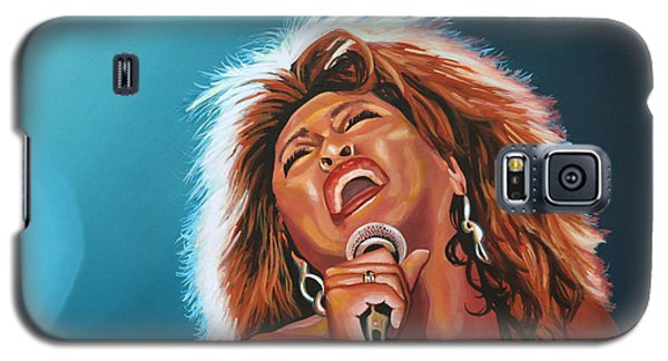 Tina Turner 3 Galaxy S5 Case by Paul Meijering