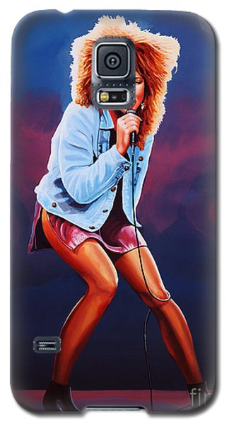 Tina Turner Galaxy S5 Case by Paul Meijering