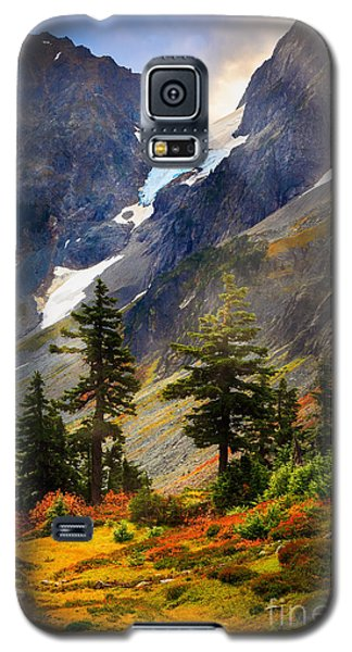 Top Of Cascade Pass Galaxy S5 Case by Inge Johnsson