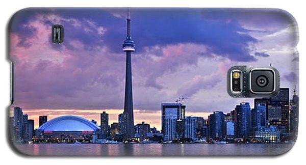 Architecture Galaxy S5 Cases - Toronto skyline Galaxy S5 Case by Elena Elisseeva