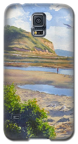 Torrey Pines Inlet Galaxy S5 Case by Mary Helmreich