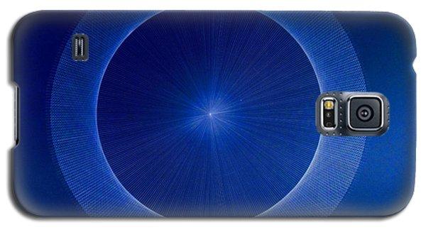 Towards Pi 3.141552779 Hand Drawn Galaxy S5 Case by Jason Padgett