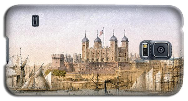 Tower Of London, 1862 Galaxy S5 Case by Achille-Louis Martinet