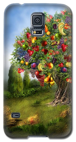 Tree Of Abundance Galaxy S5 Case by Carol Cavalaris