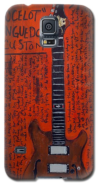 Trey Anastasio Languedoc Guitar Galaxy S5 Case by Karl Haglund