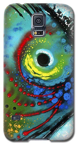 Water Galaxy S5 Cases - Tropical Fish - Art by Sharon Cummings Galaxy S5 Case by Sharon Cummings