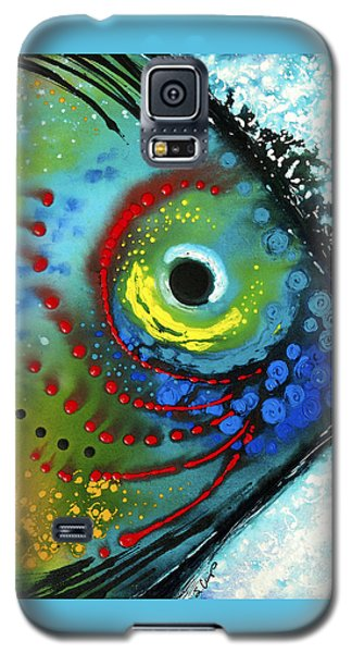 Tropical Fish - Art By Sharon Cummings Galaxy S5 Case by Sharon Cummings