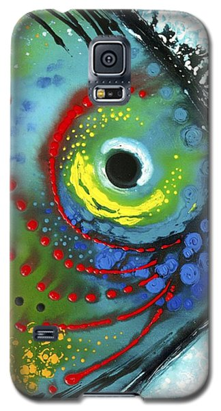 Green Galaxy S5 Cases - Tropical Fish Galaxy S5 Case by Sharon Cummings