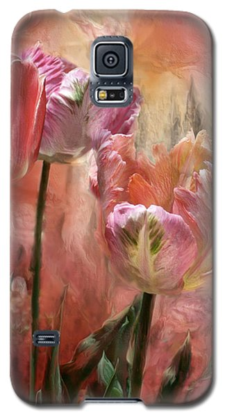 Tulips - Colors Of Love Galaxy S5 Case by Carol Cavalaris