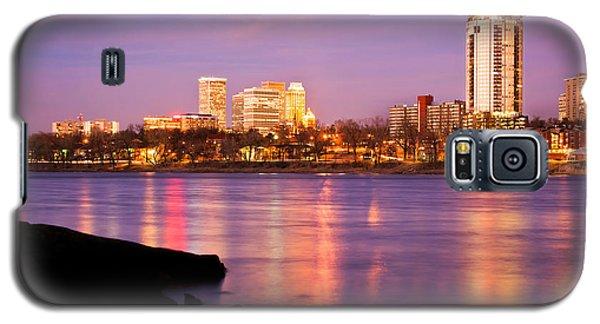Tulsa Oklahoma - University Tower View Galaxy S5 Case by Gregory Ballos