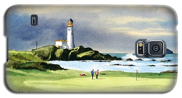 Turnberry Golf Course Scotland 10th Green Galaxy S5 Case by Bill Holkham