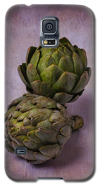 Two Artichokes Galaxy S5 Case by Garry Gay