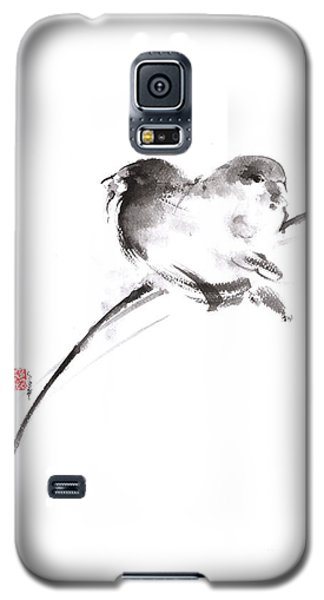 Two Birds Minimalism Artwork. Galaxy S5 Case by Mariusz Szmerdt