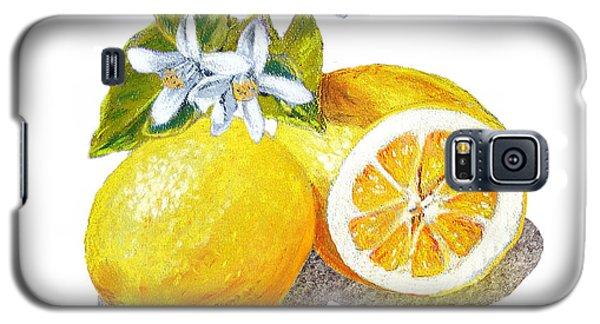 Two Happy Lemons Galaxy S5 Case by Irina Sztukowski
